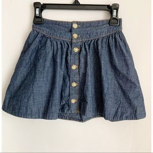 OSHKOSH Button Down Jean Skirt